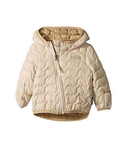 Reversible Nylon Sweater Jacket - The North Face Unisex-Baby Infant Thermoball Hoodie, Vintage White - 12M