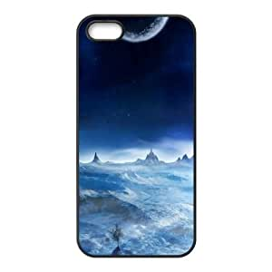 iPhone 5 5s Cell Phone Case Black Night sky R6N5EK