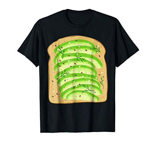 Bread Halloween Toast Avocado Costume Funny Gag Gift Gluten -