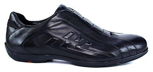 LLoyd Bruce Slipper schwarz sportlich elegant, Farbe:schwarz;Größe:44