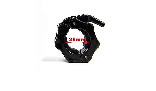 Nosii 1 Par Olímpico 28mm 30mm 50mm Collares Spinlock Barbell ...
