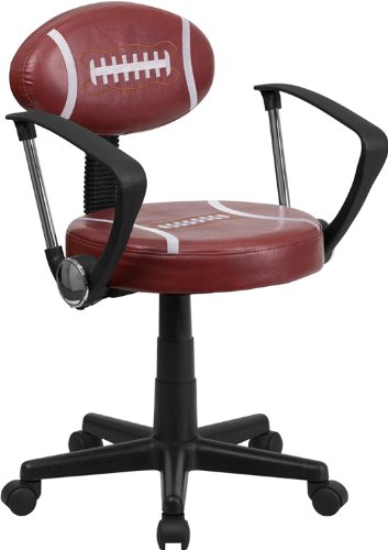 Football Swivel - Flash Furniture Football Swivel Task Chair with Arms