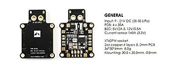 Matek Systems PDB-XPW w/ Current Sensor 140A & Dual BEC pdb quadcopter distribution board drone flight controller