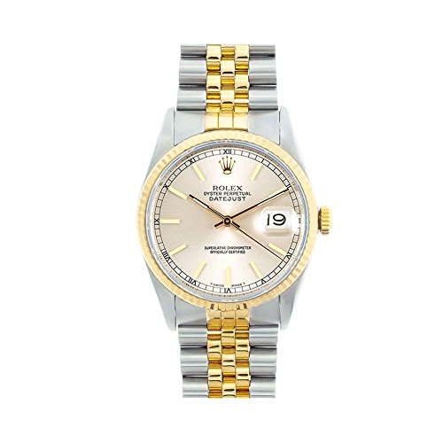 Rolex Datejust Swiss-Automatic Male Watch 16233 (Certified Pre-Owned) (Best Pre Owned Watches)
