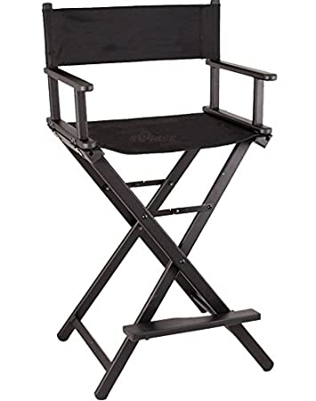 Amazon.com: Studio silla de director – Negro- # 1 Pro ...