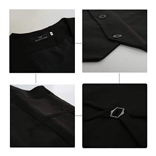 Slim Style Adelina Vintage Gilet Da Mens Smoking Schwarz Designer Sposa Fit 1 Business Herringbone Uomo Abbigliamento Casual wx4CT