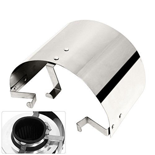 (Universal Stainless Steel Air Intake Heat Shield Cover 2.5