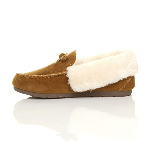 Estar Tan Zapatillas Para Por De Casa Ajvani Mujer Chestnut E6wqHzyx