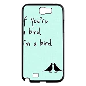 Bird Personalized Cover Case for Samsung Galaxy Note 2 N7100,customized phone case ygtg566459 hjbrhga1544