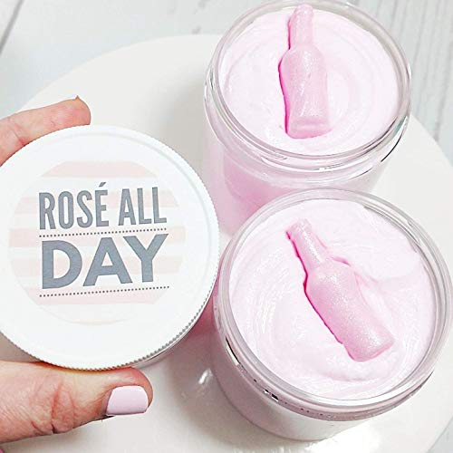 Rosé All Day Sugar Scrub Soap. Wine Lovers. Bridesmaid Wedding Proposal Box. Best Friend Bath Gift
