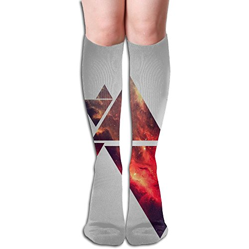 Super Pro Bow Press (Wall Haven Big Girls/Women Unique 3D Pattern Knee High Socks Compression Socks)