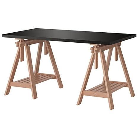 76 9 nero marrone tavolo x Linnmon 2 cm Ikea scrivania 149 WE2eYbH9DI