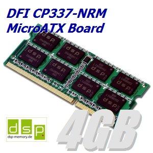 Memoria RAM de 4 GB para DFI cp337 de NRM microATX tarjeta ...