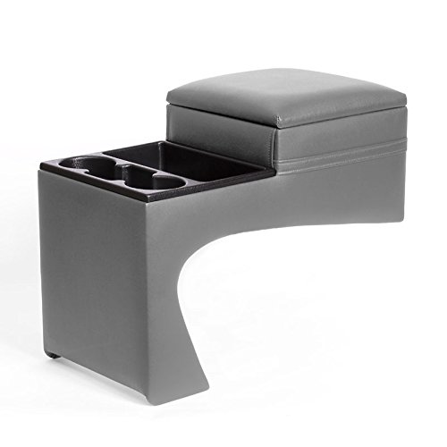 TSI Classic Saddlebag Console - Universal - Gray - Fits Most Full Size '88-up Chevy, GMC Pickups and 1992 Suburbans.