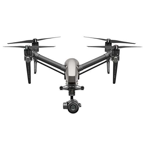 DJI Inspire 2.0 Quadcopter Combo, Includes Zenmuse X5S Camera Gimbal, Remote Controller, CinemaDNG and Apple ProRes License Key