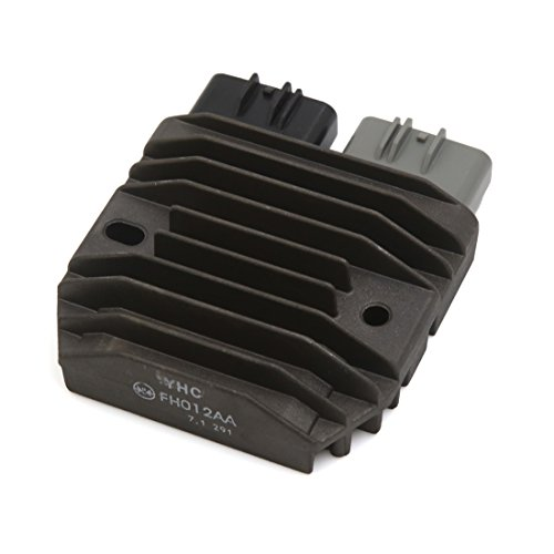 uxcell 5 Pin Motorcycle Voltage Regulator Rectifier Black by uxcell