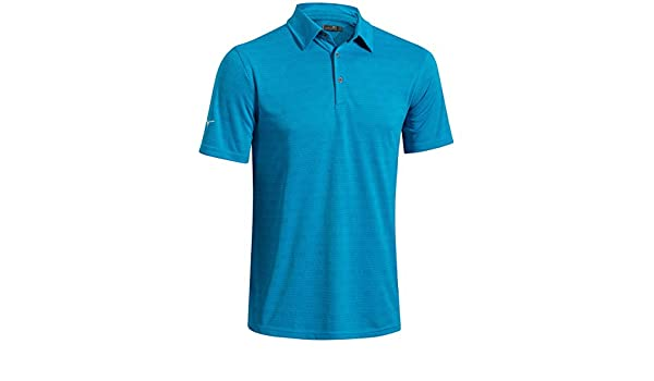 d25bba11 Amazon.com : Mizuno Golf 2016 Drylite Textured Polo Performance Mens Golf  Polo Shirt : Sports & Outdoors