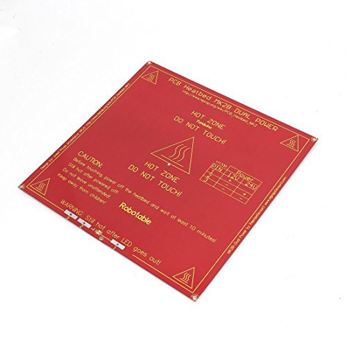 RepRap Heatbed Heat Bed PCB MK2A Hot Plate for 3D Printer Prusa Mendel by DealMux