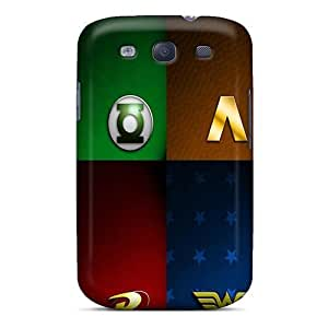 High Quality Evanhappy42 Dc Super Heroes Skin Cases Covers Specially Designed For Galaxy - S3