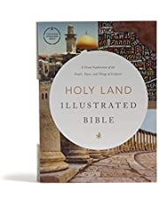 CSB Holy Land Illustrated Bible, Hardcover: A Visual Exploration of the People, Places, and Things of Scripture