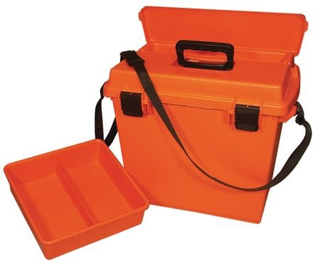 MTM Sportsmen's Plus Utility Dry Box (Orange, 18.5-Inch), Outdoor Stuffs