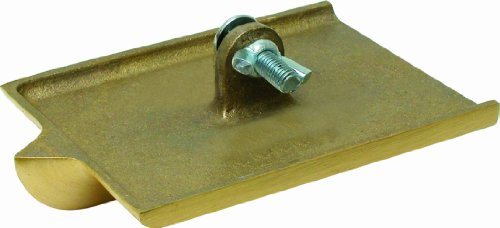 QLT By MARSHALLTOWN 8303 6-Inch by 4-1/2-Inch Bronze Walking Groover