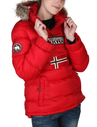 GEOGRAPHICAL NORWAY - Piumino - donna - GEOGRAPHICAL NORWAY Piumino donna  Bolide rosso - XL  Amazon.it  Abbigliamento b655ef456ac
