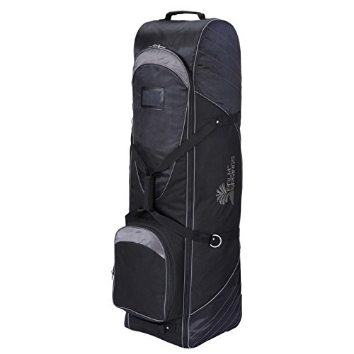 Golf Springs Palm Bag - Palm Springs Golf Bag Tour Travel Cover V2 with Wheels Black/Gray