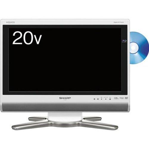 シャープ 20V型 液晶 テレビ AQUOS LC-20DX1W ハイビジョン   2009年モデル   B002BDFU5Y