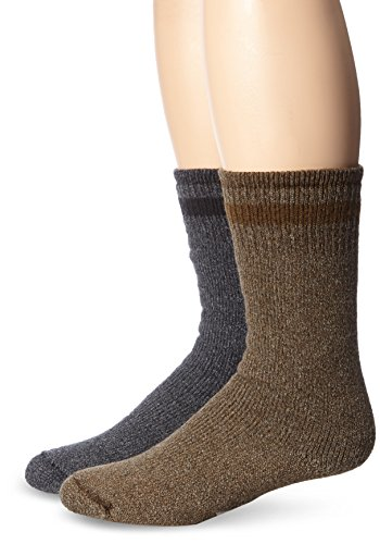 Wigwam Men's Super Boot 2 Pack Sock, Assortment, Sock Siz...
