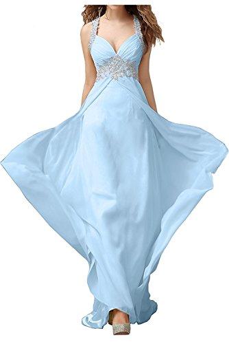 Spitze Lang La Jugendweihe Damen Hell Blau Braut Ballkleider Marie Abendkleider Festlichkleider Kleider mit 4v4A8q
