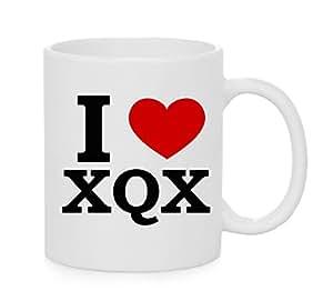 I taza del corazón XQX (amor)