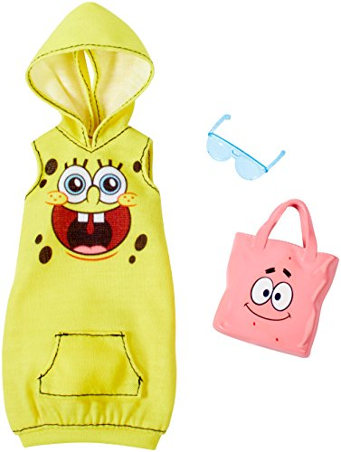Spongebob Squarepants Fun Pocket - Barbie SpongeBob Yellow Hoodie Dress Fashion Pack
