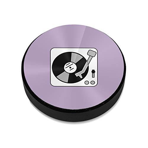 Magnetic Phone Holder Turntable Music Vinyl Record Dj Magnetic Cell Phone Holder Kit for Car Works On All Vehicles -