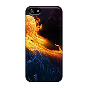 New Arrival Fire Heart Love For Iphone 5/5s Cases Covers