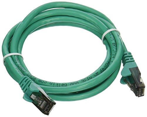 Belkin 5ft Cable CAT6 Patch 4PR-RJ45 M/M Snagless GRN ( A3L980-05-GRN-S (Belkin Cat6 Snagless Patch Cable)