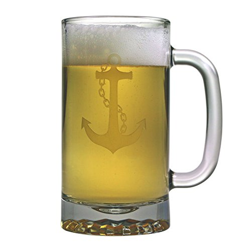 16oz-Anchor-Collection-Pub-Beer-Mugs-Set-of-4