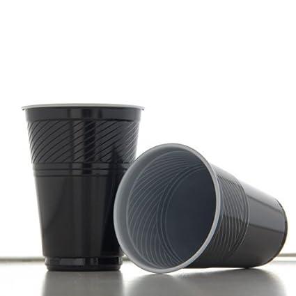 Flo termo 1000 unidades negro, 180 ml, vasos automáticas