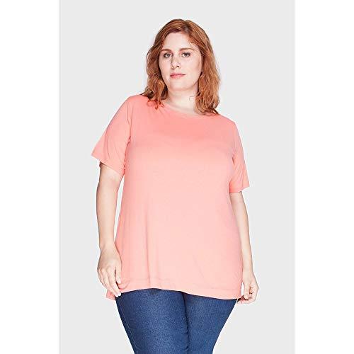 Blusa Marcela Plus Size Laranja-48/50