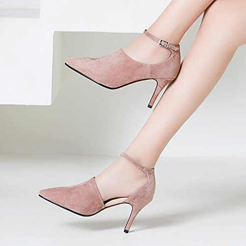 Heeled Autumn Boots Spring Heels Ankle Boots Children And Girls Heels In Shoes KPHY Pink High And wgYBIxWAq