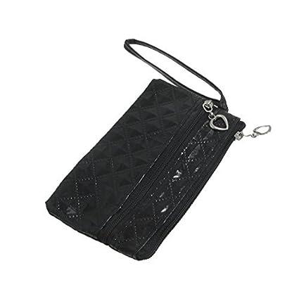 Amazon.com: eDealMax Negro PVC imitación de Cuero Rombo de ...