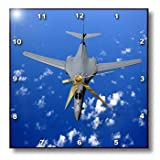 Cheap 3dRose dpp_194786_3 Print of Close by Supersonic Jet Wall Clock, 15 by 15-Inch