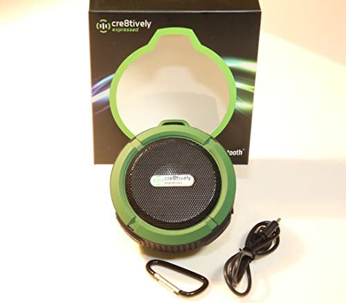 Durable Compact Portable Water Resistant Bluetooth Speaker