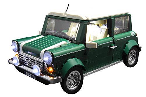 Brick Loot Mini Cooper Lighting Kit for Set 10242