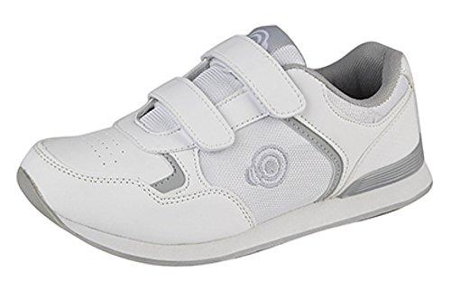 Dek suela de plana bolos Zapatillas y bolos táctiles de para de zapatillas cerradas con hombre blancas ligeras SqS0twx8