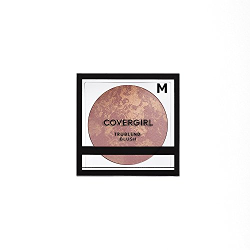 Cover Girl Mineral Makeup - COVERGIRL truBlend Baked Powder Blush, Medium Rose 200 (Packaging May Vary)