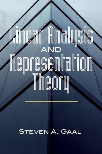 Linear Analysis and Representation Theory (Dover Books on Mathematics) pdf