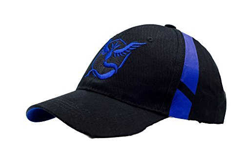 KEKLLE Embroidered Pokemon Go Hats Generation 2 Team Mystic Blue Color-Valentines Gift by Noshi Outdoor