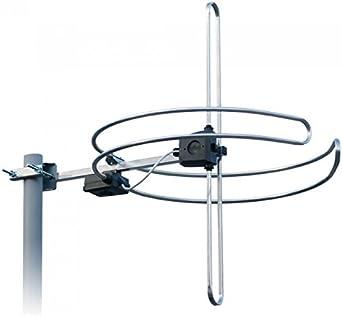 Avanzada ANTIFERENCE fácil de montar 360 ° FM & 90 ° Antena DAB combinado Circular [NP2280] – Pike & Co. ® Branded (W/garantía extendida)