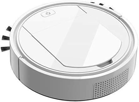 XXFFD 3 Aspirateur Robot In1 Automatique sans Fil USB Balayer de Charge Intelligent Cleaner Lazy Robots Vaccum Machine ménagers (Color : White) White